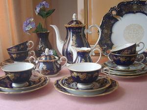 Сервиз кофейно — чайный  Reichenbach, Тюрингия. Германия. Ярмарка Мастеров - ручная работа, handmade.