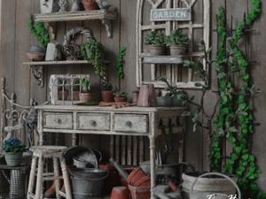 Миниатюра  «Старый сад». Ярмарка Мастеров - ручная работа, handmade.