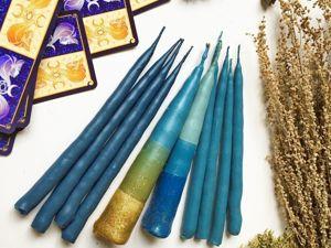 Свечи для работы с оракулом и таро, а также для связи с Высшими силами. Ярмарка Мастеров - ручная работа, handmade.