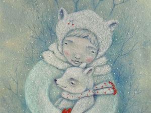Три новогодние сказки! Мишки). Ярмарка Мастеров - ручная работа, handmade.