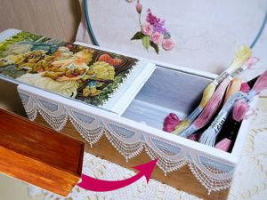 Видео мастер-класс: реставрация и декор старой деревянной шкатулки. Ярмарка Мастеров - ручная работа, handmade.