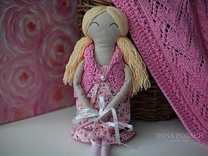 Сотворим удачу: куколка-символ для малыша. Ярмарка Мастеров - ручная работа, handmade.