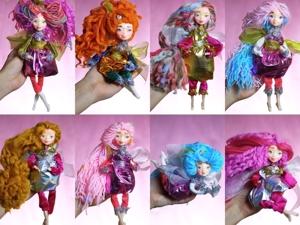 Авторские куклы Феечки — коллекция в подарки детям на праздники, игровые куклы :). Ярмарка Мастеров - ручная работа, handmade.
