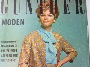 Gunther Moden -старый журнал мод- 11/ 1968. Ярмарка Мастеров - ручная работа, handmade.