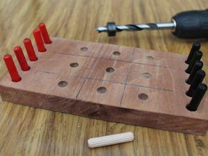 Мастерим старую, добрую игру —  «Крестики-нолики». Ярмарка Мастеров - ручная работа, handmade.