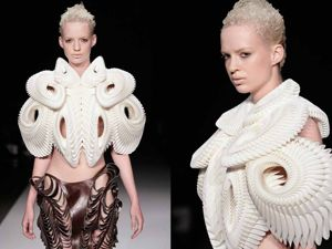 Techniques For Creating Incredible Works By Iris Van Herpen. Livemaster - handmade