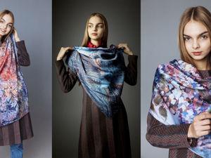 Батик платки с принтами ручной работы. Ярмарка Мастеров - ручная работа, handmade.