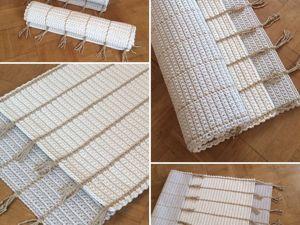 Акция!-25% на коврики в честь дня рождения дочери!. Ярмарка Мастеров - ручная работа, handmade.