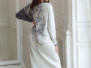 Аукцион на Эффектное платье-оверсайз ! Старт 3000 р.!. Ярмарка Мастеров - ручная работа, handmade.