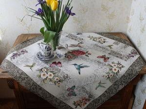 Роскошь летнего садового цветения и нежность гобеленового рисунка. Ярмарка Мастеров - ручная работа, handmade.