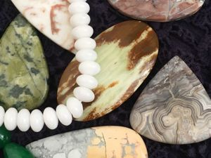 Натуральные камни кабошоны. Ярмарка Мастеров - ручная работа, handmade.