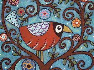 Вдохновляющее колоритное творчество от Karla Gerard. Ярмарка Мастеров - ручная работа, handmade.