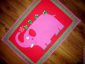 Купание красного слона:) Лоскутное шитье на заказ!!. Ярмарка Мастеров - ручная работа, handmade.
