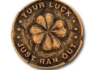 Счастливая монета лепрекона. Ярмарка Мастеров - ручная работа, handmade.