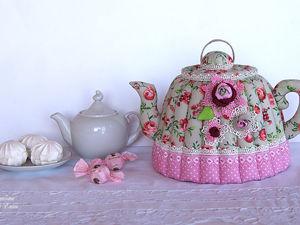Новая очаровательная грелочка для чайника. Ярмарка Мастеров - ручная работа, handmade.