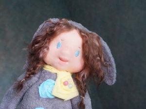 Новинка! Вальдорф-долл из серии  «Девочки-зайки». Ярмарка Мастеров - ручная работа, handmade.