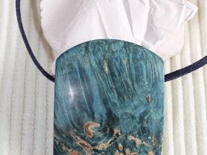 Кулон из стабилизированного дерева с 15 % скидкой. Ярмарка Мастеров - ручная работа, handmade.