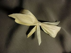 DIY Bows of Corn Leaves, Eco-friendly and Unusual. Livemaster - handmade