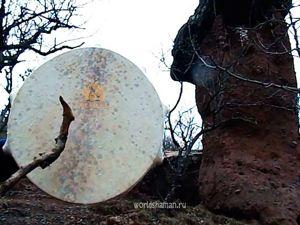 Видео запись бубна Каменный Гриб. Ярмарка Мастеров - ручная работа, handmade.