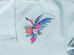 История одной вышивке. Вышивка на одежде. Ярмарка Мастеров - ручная работа, handmade.