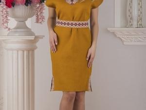 Платье Льняное Византия. Ярмарка Мастеров - ручная работа, handmade.