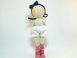 Шьём текстильную куклу. Часть 2. Ярмарка Мастеров - ручная работа, handmade.