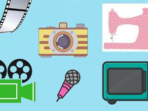 Техника для фото, видео и творчества. Монтаж видео Movavi. Обработка фото. Ярмарка Мастеров - ручная работа, handmade.