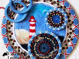 Анонс! Готовим новый ловец снов в морском стиле. Ярмарка Мастеров - ручная работа, handmade.
