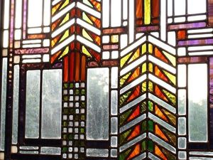 Exquisite Laconism in Stained-glass Windows by Frank Lloyd Wright. Livemaster - handmade