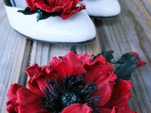 МК Брошь-цветок из кожи — опрос. Ярмарка Мастеров - ручная работа, handmade.