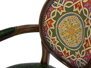 Эффектные подушки и изящные мебельные формы в этническом стиле. Ярмарка Мастеров - ручная работа, handmade.
