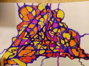 Нейрографика. Ярмарка Мастеров - ручная работа, handmade.