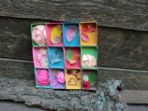 Создаем панно из спичечных коробков. Ярмарка Мастеров - ручная работа, handmade.