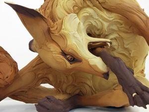 Застывшие в мгновении скульптуры Бети Кавенер. Ярмарка Мастеров - ручная работа, handmade.