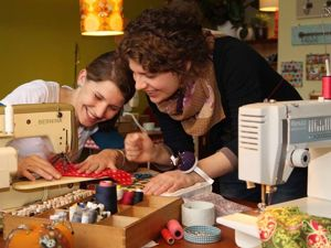 Where Needlewoman Can Escape From Household Chores: Sewing Cafes For Those Who Like to Sew and to Drink Cappuccino. Livemaster - handmade