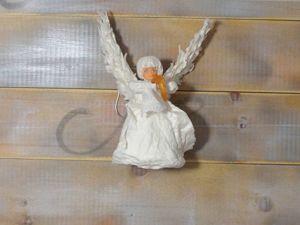 Делаем ватную игрушку «Ангел». Часть 3. Финальная. Ярмарка Мастеров - ручная работа, handmade.