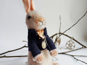 Tutorial on Making an Interior Hare. Part 1. Livemaster - handmade