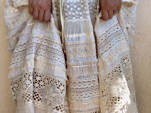Платье Одетта крем с короткими рукавами. Ярмарка Мастеров - ручная работа, handmade.