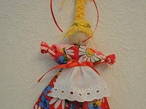 Веснянка — традиционная народная кукла своими руками. Ярмарка Мастеров - ручная работа, handmade.
