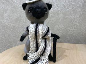 В моем магазине вязаной игрушки аукцион на кота!!!. Ярмарка Мастеров - ручная работа, handmade.