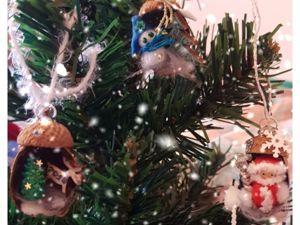 Создаем новогоднюю сказку в желудях. Ярмарка Мастеров - ручная работа, handmade.