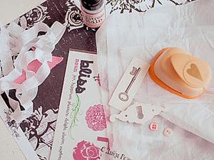 Открытка из одного листа с кармашками для денег!. Ярмарка Мастеров - ручная работа, handmade.