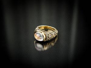 Видео кольца с лунным камнем адуляром и танзанитами. Ярмарка Мастеров - ручная работа, handmade.