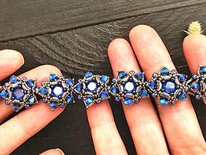 Создаем браслет из бисера и кристаллов!. Ярмарка Мастеров - ручная работа, handmade.