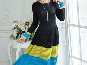 Аукцион на Элегантное вязаное платье! Старт 3000 руб.!. Ярмарка Мастеров - ручная работа, handmade.