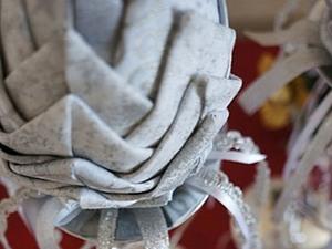 Шикарная новогодняя шишка своими руками. Ярмарка Мастеров - ручная работа, handmade.