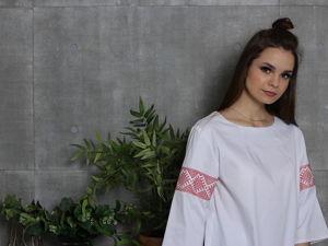 Коллекция одежды  «Славянский Стиль». Ярмарка Мастеров - ручная работа, handmade.
