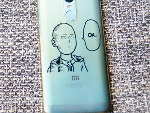 Decorating Phone Case. Livemaster - hecho a mano - handmade.