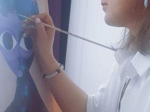 Работаю над новой картиной. Ярмарка Мастеров - ручная работа, handmade.
