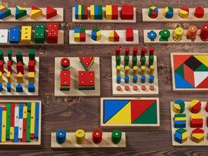Волшебные игрушки или что такое материалы Монтессори. Ярмарка Мастеров - ручная работа, handmade.